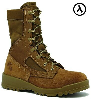 BELLEVILLE 550 ST USMC HOT WEATHER STEEL TOE COMBAT BOOTS * ALL SIZES (R/W 3-16)