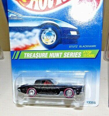 Hot Wheels 1995 Treasure Hunt Stutz Blackhawk #7 of 12