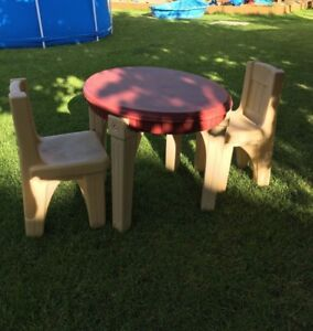 Step 2 kids table and chairs