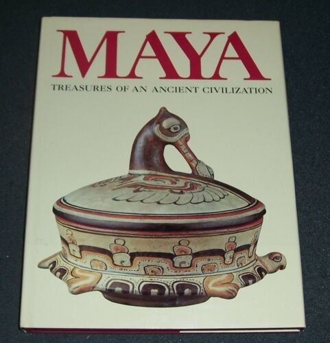 MAYA Treasures of an Ancient Civilization 245 illustrations 81 full color plates