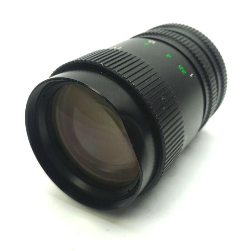 Varifocal Machine Vision Zoom Lens 8.5-50mm 1-5m∞ f/1.2-16C C-Mount *Dent*