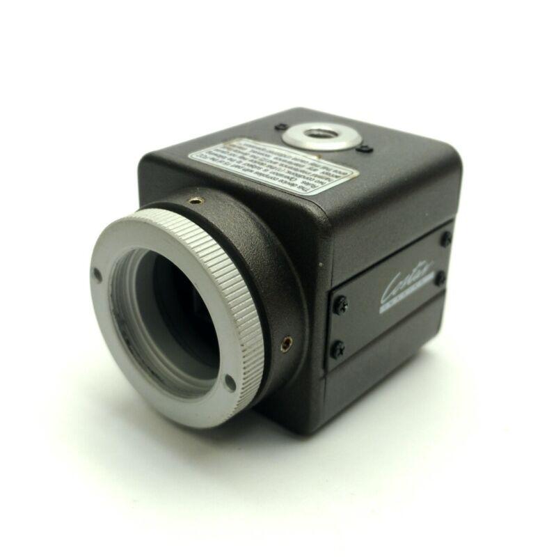 "Costar SI-C500N Machine Vision Camera 1/3"" Color CCD 768 x 494 S-Video BNC 12VDC"