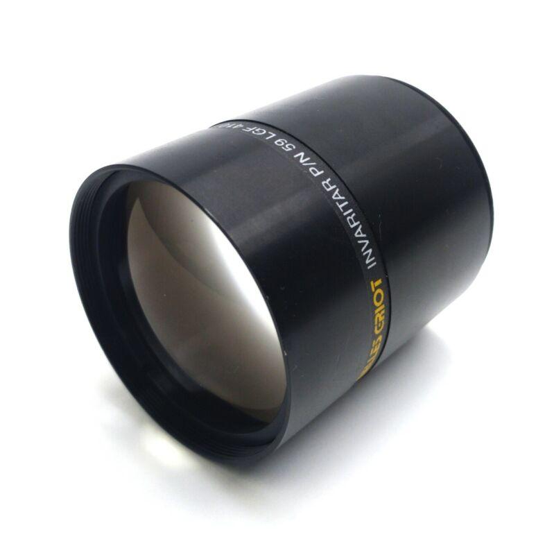 Melles Griot 59 LGF 410 Invaritar Camera Lens, ø54mm x 61mm, 52mm Mount