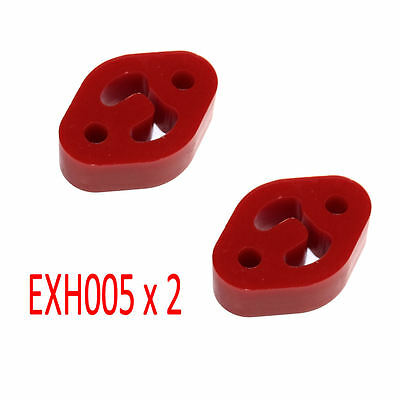 Powerflex Exhaust Mounts x2 for Citroen Saxo Inc. VTS EXH005