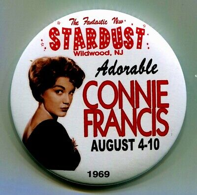 CONNIE FRANCIS 1969 STARDUST CLUB PIN 3