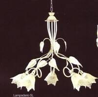 Lampadario luci ferro battuto - Arredamento, mobili e accessori per ...