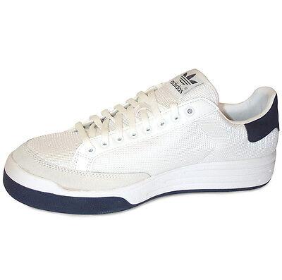 Adidas Tennis Shoe - Adidas Rod Laver Super Tennis Shoes NIB Men's, White/Navy - Multiple sizes