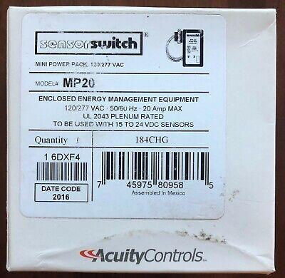 Sensor Switch Mp20 Mini Power Pack New In Box