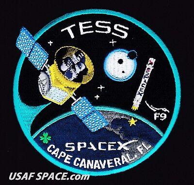 Tess   Spacex Original Falcon 9   F 9 Launch   Nasa Satellite Mission Patch