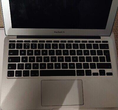 """MacBook Air 11.6"""" Mid 2011 4,1 i5 2467M 1.6GHz 64GB SSD 2GB RAM OS X High Sierra"""