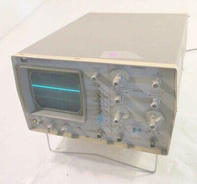 Hewlett Packard 1220a Oscilloscope 2 Channel