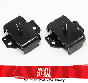 Engine Mount SET (2x bolt) - Patrol GQ Maverick (88-2/91)
