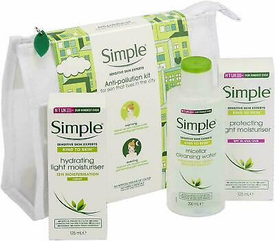 Simple Sensitive Anti Pollution kit Regime Gift Set- Moisturiser ❤️❤️🤩🤩🤩🥰🥰