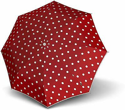 Knirps T.010 Small Manual Regenschirm Taschenschirm Schirm Unisex Dot Art Red