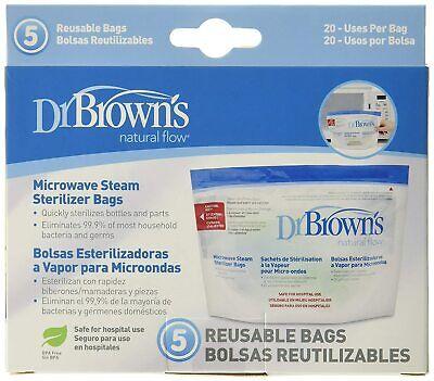 Microwave Steam Bags Sterilizer Reusable Dr Brown