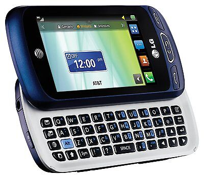 Lg Xpression 2 C410  At T Unlocked  Qwerty Slider Cell Phone Brand New