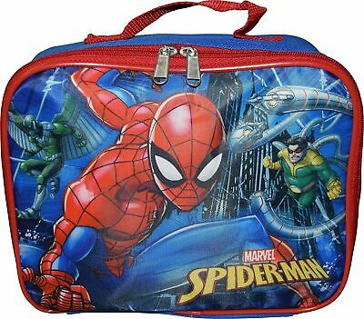 Marvel Spiderman Insulated Lunch Box