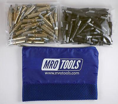 50 316 50 532 Cleco Sheet Metal Fasteners W Mesh Carry Bag K3s100-4