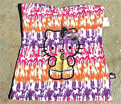 Juniors Hello Kitty Tie-dye Tube Top Sz S $24.50 -