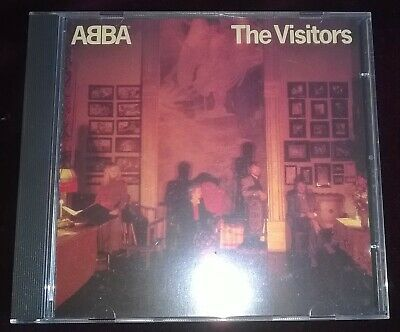 Rare CD Abba The Visitors West Germany Blue Face Polar POLCD 342 No Barcode 1983