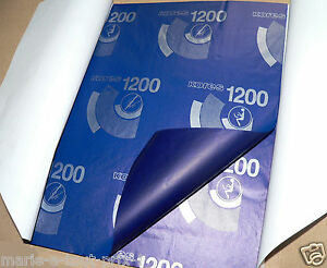 lot de 10 feuilles papier carbone main ou machine bleu. Black Bedroom Furniture Sets. Home Design Ideas