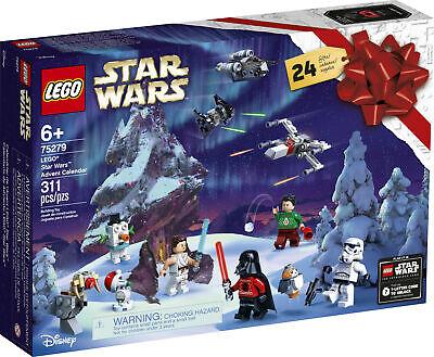 LEGO Star Wars Advent Calendar 75279 Building Kit, Fun Christmas Star Wars Build