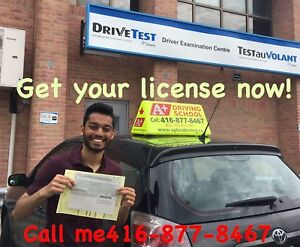 Driving Lesson, Driving  Lesson, call 416-877-8467