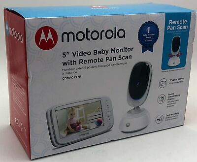 "Motorola Comfort75 5"" Video Baby Monitor-816479016554"