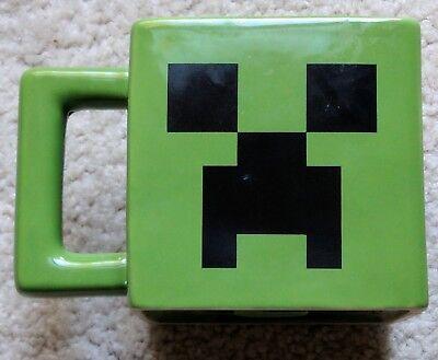 Minecraft Creeper Ceramic Face Mug Tea Coffee Game Green Cup Mojang Jinx