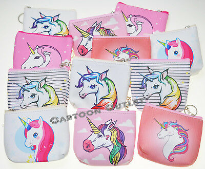 Unicorn Coin Purse Girls Unicorn Candy Bag Party Favors RECUERDOS DE Unicornio](Candy Bag Party Favors)
