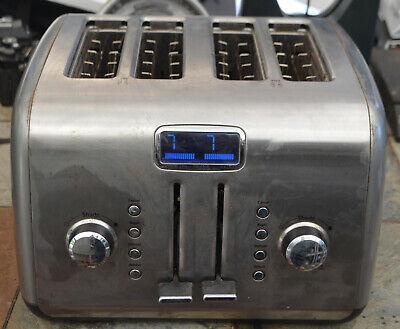 KitchenAid Digital Display KMT422CU0 4-Slice Toaster Stainless Steel