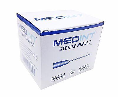 Disposable Needle 100 Units Box Needles Hypodermic Medint