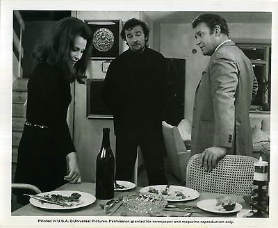 3 INTO 2 WON'T GO 1969 Rod Steiger, Claire Bloom PETER HALL 10x8 STILL