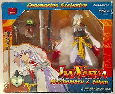 InuYasha Sesshomaru & Jaken Convention Exclusive Toy Figure SEALED wear on box