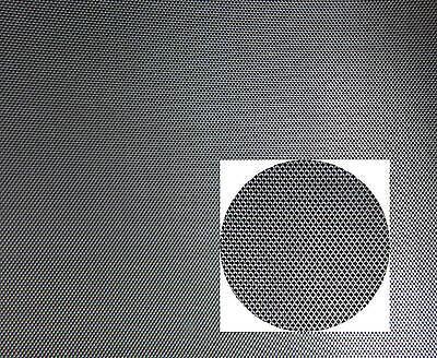 Alu Streckgitter, Streckmetall MW 6,0 x 3,0 mm, 250x500mm