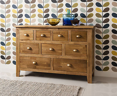 Vermont Solid Oak Sideboard in Natural Oak