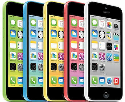 AT T iPhone 5c 16GB Apple Factory Unlocked Smartphone Clean Esn