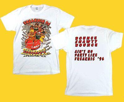 Vintage 90s freaknik 96 atlanta Hip Hop Rap Tour T shirt men S-XXL