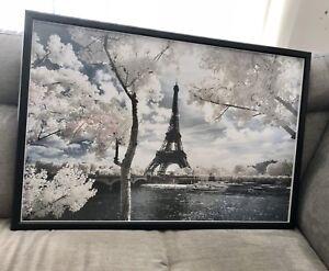 Eiffel Tower Paris Image In Ikea Frame 60 X 90 Cm Art Gumtree