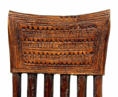 Art African - Comb Baoulé - African Comb Kamm African Africa - 16 Cm