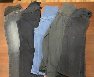 5 pairs of maternity capris (size S)