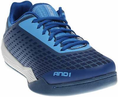 AND1 Ascender Low  Casual Basketball Court Shoes Blue Mens - Size 8.5 D