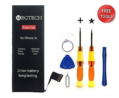 Genuine Battery Replacement kit for Apple iPhone 5s 5c 6 6s Megtech original