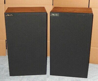 Snell Acoustics Type K/IIV and KIIV Speakers Loudspeakers Bi-Amped Vintage