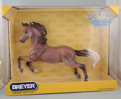 Breyer Rose Grey Mustang Treasure Hunt Silver Model Horse - NIB