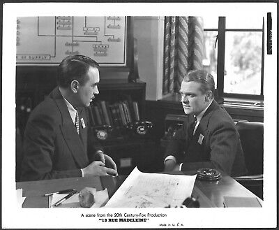 James Cagney Original 1940s Photo La Rue Madeleine Walter Abel Spy Film