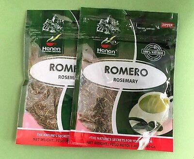 Romero Hierba Te  Rosemary Herbs Tea  2 Bags