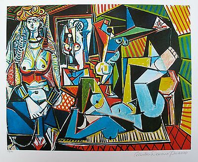 """Pablo Picasso WOMEN OF ALGIERS Estate Signed Limited Edition Giclee 20"""" x 26"""" for sale  Sherman Oaks"""