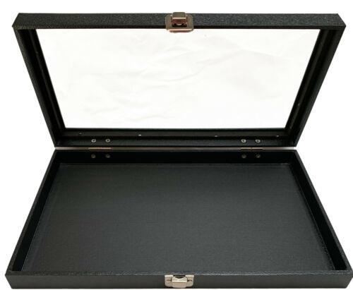 Glass Top Jewelry Display Storage Case Organizer Box