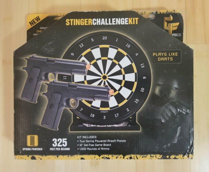 Crosman Stinger Challenge Airsoft Kit Black